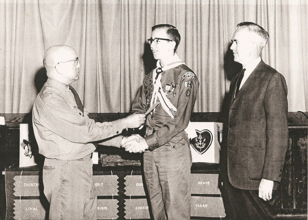 1960s Scout Award